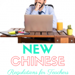china laws and english teachers