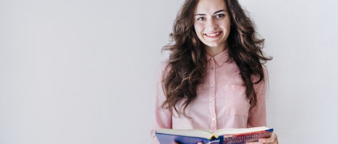 a woman is ready to start teaching online