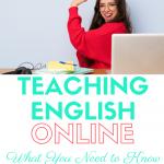 teaching english online essentials